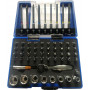 "BATO Socket wrench/bit set 1/4"" 6 edge. 60 parts."