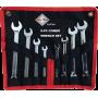 BATO Combi set Combination spanner / Ringratchet wrench 8 parts.