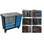 BATO Tools cabinet 7 drawers and cabinet XXL 436 parts.
