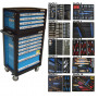 BATO Tools cabinet  11 drawers 526 parts.