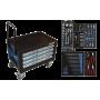BATO Tools cabinet 4 drawers mini. 103 parts.